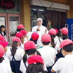 小学生たちによるピーターパンのパン工場見学